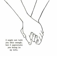 I appreciate you Cute Love Quotes, Girly Quotes, Couple Drawings Tumblr, I Appreciate You Quotes, Love Is Patient, Les Sentiments, Couple Art, Friendship Quotes, Be Yourself Quotes