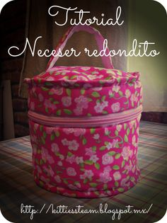 Kitties´s Team: Tutorial Neceser redondito
