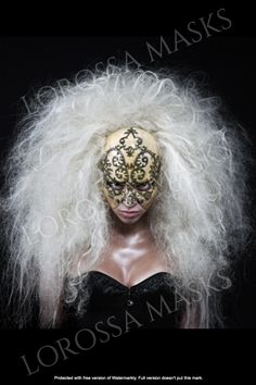 """Handcrafted Woman Mask """"Byzantium"""" Unique Mask Design made with Papier Mache and passion, Exclusive Gift for special occasion, ART, Collectible Average Face, Bat Mask, Best Tattoos For Women, Kindergarten Crafts, Magnetic Eyelashes, Vegetable Garden Design, Pretty Designs, Mermaid Dresses, Mask Design"""