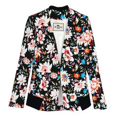 A beautiful #floral blazer, plus 15 other ways to wear florals.