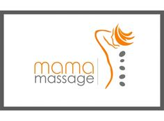 massage logo Love the font and colours