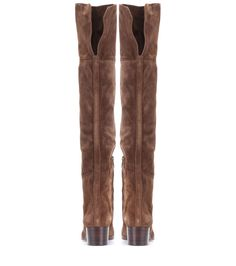 mytheresa.com - Sonia suede over-the-knee boots - Luxury Fashion for Women / Designer clothing, shoes, bags