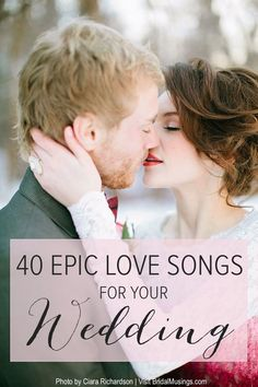 Valentine's Playlist | 40 Romantic Songs For Your Wedding | Bridal Musings Wedding Blog #WeddingMusic