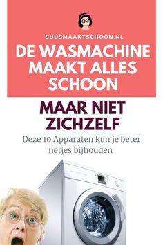 Wil je zo lang mogelijk plezier van je wasmachine en andere huishoudelijke apparaten hebben dan zal je die ook goed moeten onderhouden. Doe je dat niet dan krijg je vroeg of laat vetluis en gaat je machine en kleding vreselijk stinken. Lees hoe je de wasmachine en andere huishoudelijke apparaten onderhoudt!