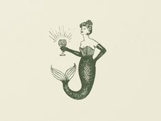 Mermaid Mark designed by Candor. Connect with them on Dribbble; Tattoos Mandala, Tattoos Geometric, Xoil Tattoos, Paisley Tattoos, Henna Tattoos, Art Tattoos, Forearm Tattoos, Gravure Illustration, Illustration Art