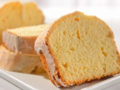Get Prosecco Pound Cakes with Sparkling Glaze Recipe from Food Network