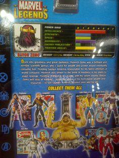 ToyzMag.com » Marvel Legends (ToyBiz) : review du Baron Zemo