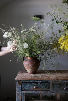 my scandinavian home: 6 Simple Foraged Floral Displays For Midsummer's Eve
