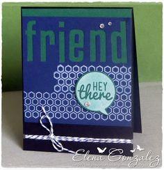 Hey there Friend (MFT, SOG, Lawn Fawn)