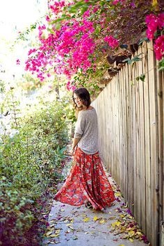 her skirt :0 <3