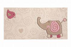 Sigikid Happy Jardim zoológico Elephant bege 140 x 70 cm - Tapetes infantis - Tapetes, tapetes modernos, designer de tapetes, tapetes de tuf...