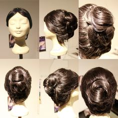 Wig Commission - Mary Poppins by lenia90.deviantart.com on @DeviantArt