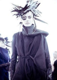 *** Ann Demeulemeester - Fantasy Fashion