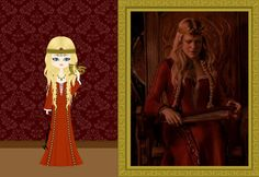Wealtheow is the Wulfing queen of the Danes. She is married to King Hrothgar, and after his death, she becames the wife and queen of Beowulf.  The movie is set in 507 d.C.