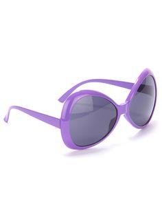 a490c194c07d18 Lunettes disco adulte violet   Deguise-toi, achat de Accessoires