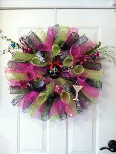 Girls Night wreath