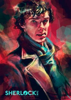 Sherlock NYC Alice X. Zhang. I adore her art. If you look up her name on Google and click images, you'll find she does WAY more than Sherlock. She does Doctor Who, Disney, Harry Potter and characters from other movies and even does random portraits of people.