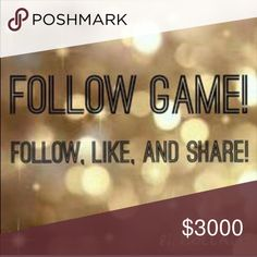 You want more followers???? Lets play!!! Mk Follow! Like! Share! Tag your self Coach Bags Totes
