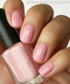 Kiko Candy Pink on http://glitterandnails.blogspot.fr/