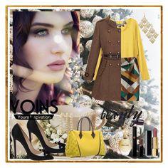 """Mini skirt-Yoins"" by zijadaahmetovic ❤ liked on Polyvore featuring Christian Louboutin, Chanel, Giorgio Armani and Roberto Cavalli"