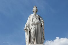 A Lady From Nimes Esplanade Charles de Gaulle Statue Of Liberty, Lady, Liberty Statue