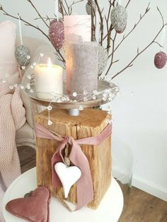 Easter Table Decorations, Flower Decorations, Christmas Decorations, Valentines Day Gifts For Him Boyfriends, Diy Christmas Tree, Valentines Diy, Diy Crafts To Sell, Woodworking Crafts, Candles