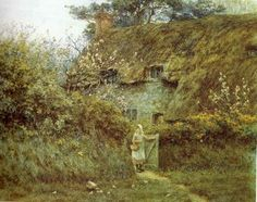 Helen Allingham: At the Cottage Gate