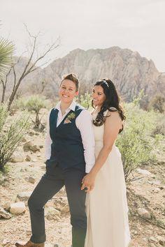 TJ & Tiara's simple & elegant wedding at Spring Mountain Ranch, just outside of Las Vegas, NV.