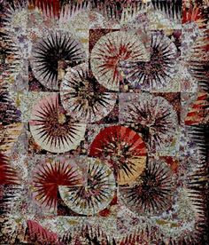 Japanese Fan ~ Quiltworx.com, made by Certified Instructor, Maureen Wood
