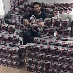 Charlie Cox asked Funko for a couple Daredevil Pop!s to take to hospitals and schools—here's what they sent