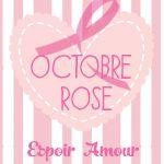 Bouton Octobre Rose pour votre blog