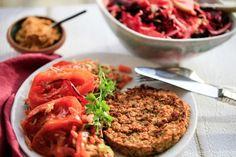 Fantastiske vegetar bøffer - Opskrift fra Café Ganefryd
