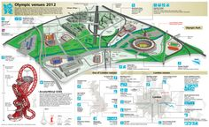 Olympic venues - London 2012 | Visit our new infographic gallery at visualoop.com/