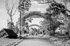 El Caballo Blanco and the Australiana Park at Catherine Field,Camden Way, NSW, Australia (year unknown). Sydney Australia, Camden, Old Photos, Abandoned, Places To Visit, To Go, Horses, South Wales, Park