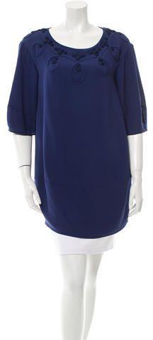 3.1 Phillip Lim Silk Short Sleeve Tunic Women Tunic, Silk Shorts, 3.1 Phillip Lim, Tunic Tops, Stylish, Blouse, Sleeve, Fashion, Manga