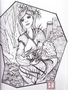 black and white sketch / fine liners and alcohol markers Under the sea I'll wait for you Ill Wait For You, Black And White Sketches, Alcohol Markers, Waiting For You, Under The Sea, My Drawings, Deviantart, Painting, Painting Art