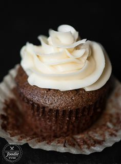 These Heavenly Homemade Chocolate Cupcakes, made with cocoa and strong hot coffee, are the most decadent and moist cupcake you'll ever enjoy!