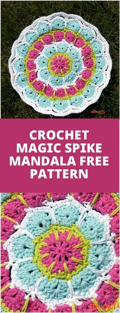 Gorgeous Crochet Magic Spike Mandala - 60+ Free Crochet Mandala Patterns - Page 4 of 12 - DIY & Crafts