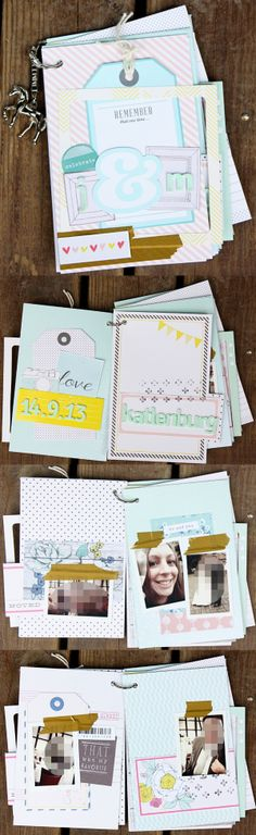#dpFebruarkit14 Mini Album von Svenja Friedrich für www.danipeuss.de