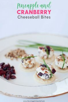 A bit of sweet with a touch of savory mini cheeseballs bites are all wrapped up and ready for your next party! Easy, cute and delicious! Cheese Bites, Cheese Ball, Appetizers For Party, Appetizer Recipes, Mini Cheeseballs, Christmas Neighbor, Tea Ideas, Tasty, Yummy Food