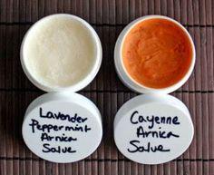 2 homemade pain relieving salve rub recipes