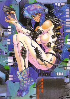 Ghost in the Shell - Motoko Kusanagi by Masamune Shirow