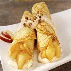 Platos Latinos, Blog de Recetas, Receta de Cocina Tipica, Comida Tipica, Postres Latinos: Receta Costaricense de Crepes de Manzana, Blog de Recetas