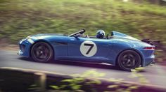 Jaguar adds speed to Goodwood with Project 7 concept car