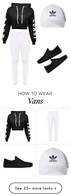 """""""Untitled #9"""" by tristandelaney on Polyvore featuring Vans and adidas"""