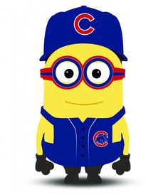 Meet Max Scherzer, Bryce Harper and the MLB all-star Minions - The Washington Post Chicago Cubs Fans, Chicago Cubs Baseball, Chicago Bears, Cubs Win, Chicgo Cubs, Baltimore Orioles Baseball, Go Cubs Go, Mlb Teams, Sports Teams