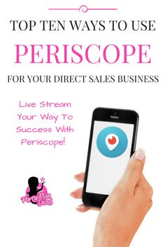 Periscope is a fun, interactive, live streaming app that gives you the opportunity to get in front of potentially thousands of new customers every day!