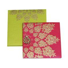 Menaka Card - Online Wedding Card Shop | Hindu Wedding Card|Christian Wedding Card|Muslim Wedding Card|Indian Wedding Card Portal , Hindu Cards , Wedding Card , MSS-9208-A-0505