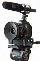 Workshop : Canon 5D Mark III Video-DSLR im One-Man Interview-Setup