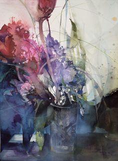 Blumen - Elke Memmler Painting, Art, Kunst, Gcse Art, Sanat